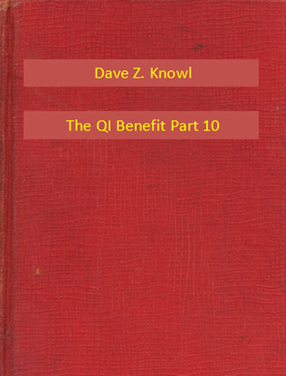 The QI Benefit Part 10 - cover
