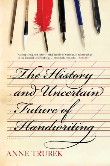 The History and Uncertain Future of Handwriting - cover