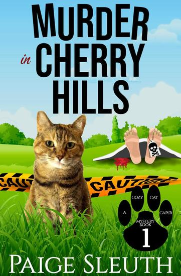 Murder in Cherry Hills - Cozy Cat Caper Mystery #1 - cover