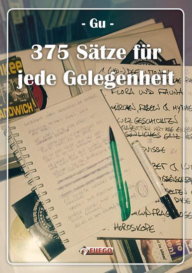 375 Sätze für jede Gelegenheit - cover