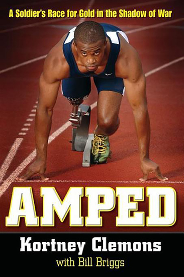 Amped - A Soldier's Race for Gold in the Shadow of War - cover