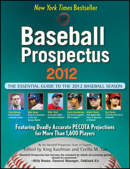 Baseball Prospectus 2012 - cover