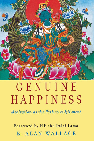 Genuine Happiness - Meditation as the Path to Fulfillment - cover