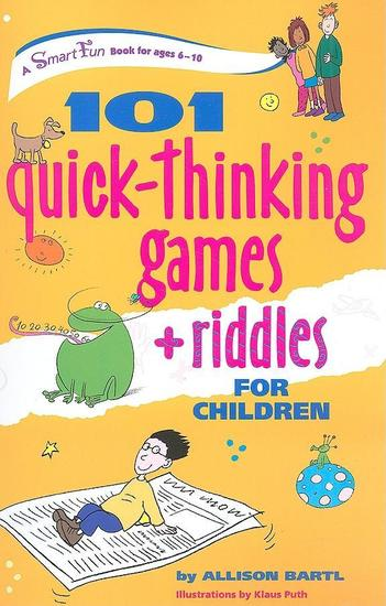 101 Quick Thinking Games and Riddles - cover