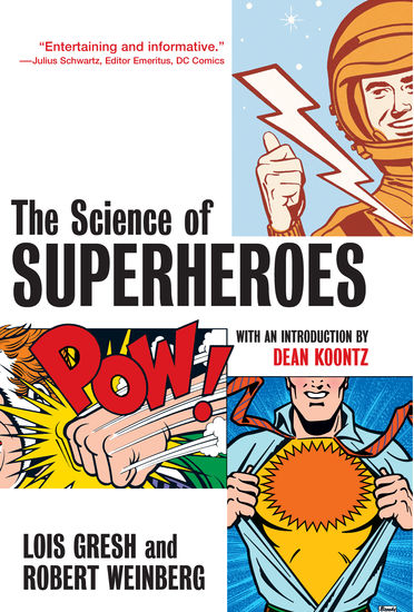 The Science of Superheroes - cover