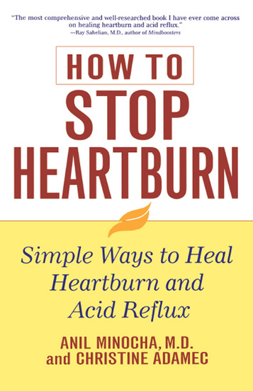 How to Stop Heartburn - Simple Ways to Heal Heartburn and Acid Reflux - cover