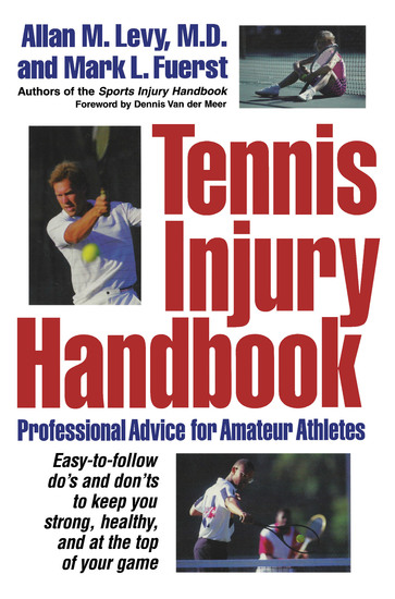 Tennis Injury Handbook - Professional Advice for Amateur Athletes - cover