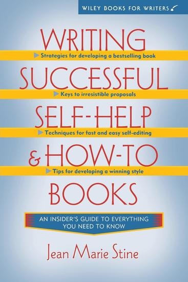 Writing Successful Self-Help and How-To Books - cover