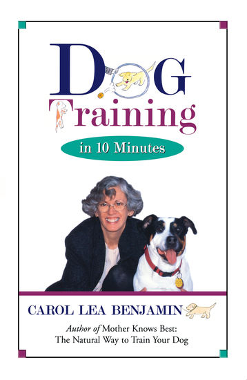 Dog Training in 10 Minutes - cover