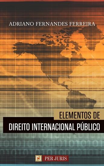 Elementos de Direito Internacional Público - cover