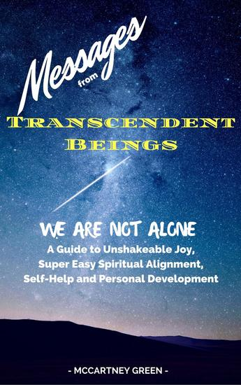 Messages from Transcendent Beings We Are Not Alone - cover