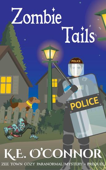 Zombie Tails (Zee Town Paranormal Cozy Mystery Series Prequel) - cover
