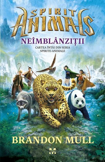 Neîmblânziții Cartea întâi din seria Spirite-Animale - cover