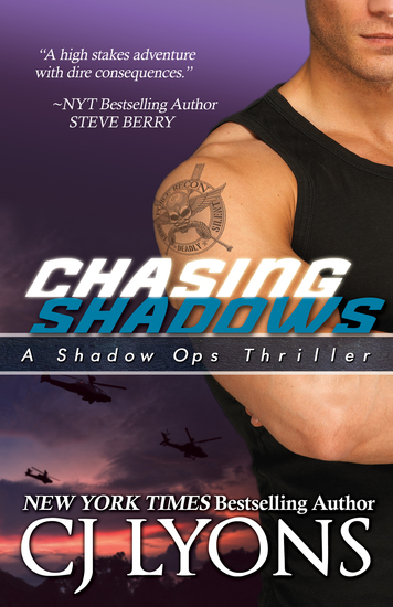 CHASING SHADOWS: Shadow Ops Book #1 - cover