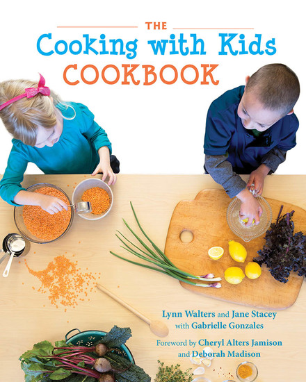 The Cooking with Kids Cookbook - cover