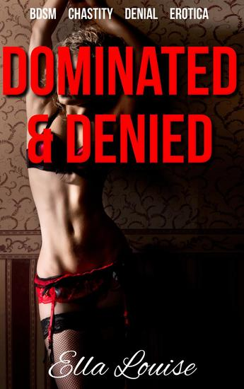 Dominated & Denied - The Kink Diary #1 - cover