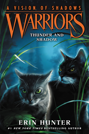 Warriors: A Vision of Shadows #2: Thunder and Shadow - cover