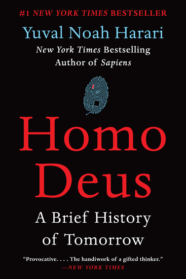 Homo Deus - A Brief History of Tomorrow - cover