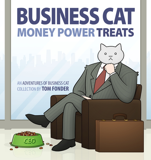 Business Cat: Money Power Treats - cover