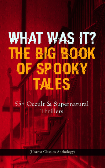 WHAT WAS IT? THE BIG BOOK OF SPOOKY TALES – 55+ Occult & Supernatural Thrillers (Horror Classics Anthology) - Number 13 The Deserted House The Man with the Pale Eyes The Oblong Box The Birth-Mark A Terribly Strange Bed The Torture by Hope The Mysterious Card and many more - cover