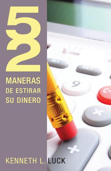 52 maneras de estirar su dinero - cover