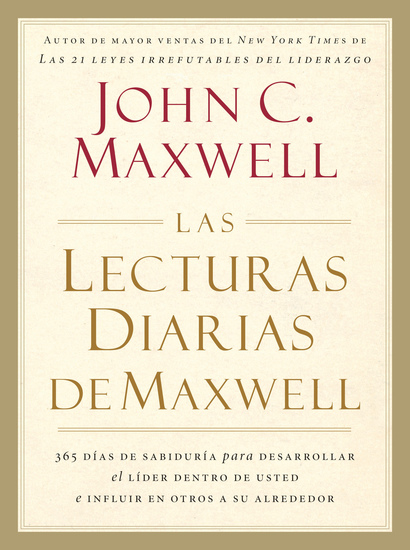 Las lecturas diarias de Maxwell - cover