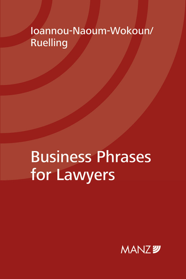 Business Phrases for Lawyers - cover