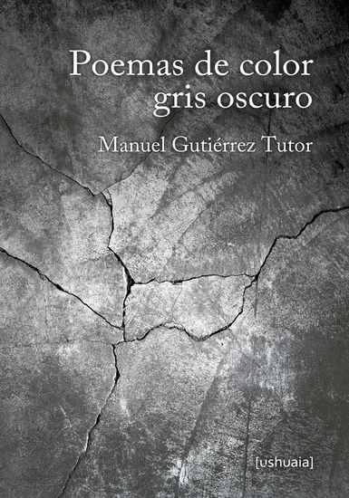 Poemas de color gris oscuro - cover