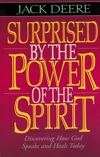 Surprised by the Power of the Spirit - cover