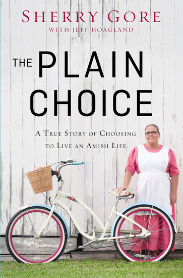 The Plain Choice - A True Story of Choosing to Live an Amish Life - cover
