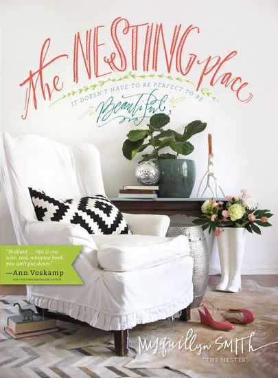 The Nesting Place - It Doesn't Have to Be Perfect to Be Beautiful - cover
