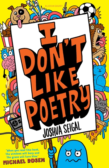 I Don't Like Poetry - cover