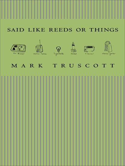 Said Like Reeds or Things - cover