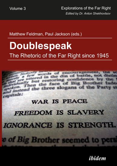 Doublespeak: The Rhetoric of the Far Right since 1945 - cover