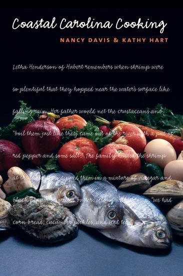 Coastal Carolina Cooking - cover