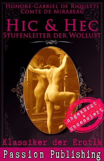 Klassiker der Erotik 50: Hic & Hec - Stufenleiter der Wollust - ungekürzt und unzensiert - cover