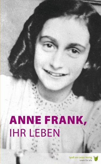 Anne Frank ihr Leben - cover