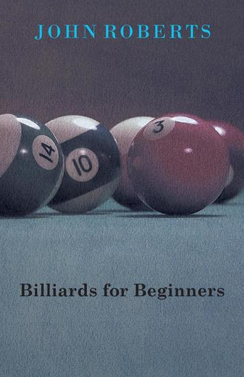 Billiards For Beginners - cover