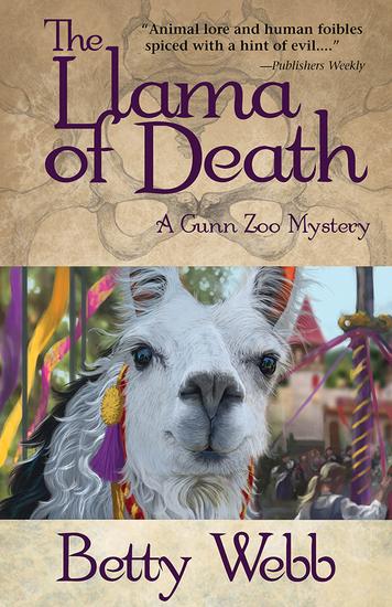 The Llama of Death - A Gunn Zoo Mystery - cover