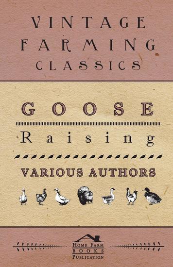 Goose Raising - cover