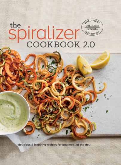Spiralizer 20 Cookbook - cover