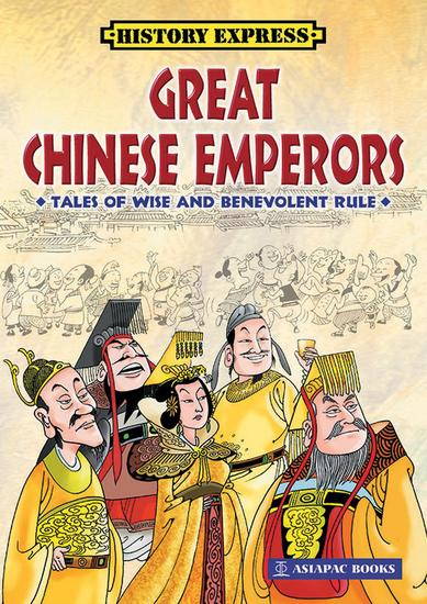 Great Chinese Emperors - cover