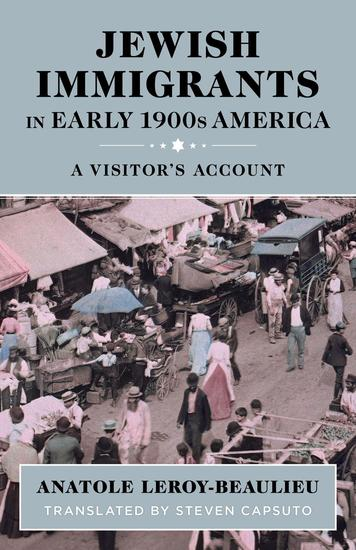 Jewish Immigrants in Early 1900s America: A Visitor's Account - cover