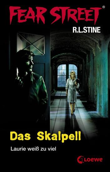 Fear Street 5 - Das Skalpell - Die Buchvorlage zur Horrorfilmreihe auf Netflix - cover