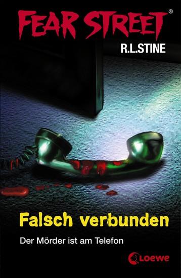 Fear Street 8 - Falsch verbunden - Die Buchvorlage zur Horrorfilmreihe auf Netflix - cover