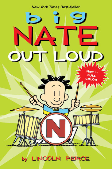 Big Nate Out Loud - cover