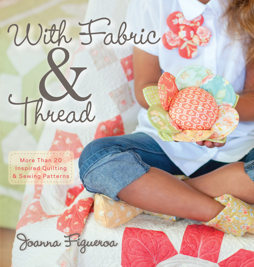 With Fabric and Thread - More Than 20 Inspired Quilting and Sewing Patterns - cover