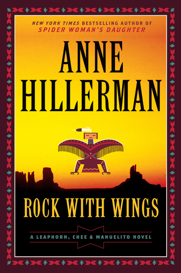 Rock with Wings - A Leaphorn Chee & Manuelito Novel - cover