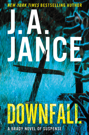 Downfall - A Brady Novel of Suspense - cover
