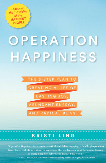 Operation Happiness - The 3-Step Plan to Creating a Life of Lasting Joy Abundant Energy and Radical Bliss - cover